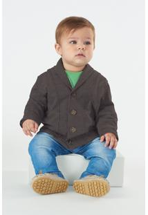Casaco Up Baby Infantil Preto