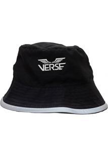 Chapeu Verse Limited Logo Asas Refletivo Reversível Preto Camo