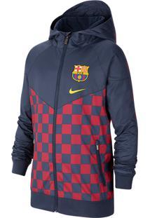 Jaqueta Nike Fc Barcelona Windrunner Infantil