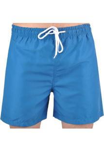 Bermudas Hurley Volley Seaside Masculino - Masculino-Azul