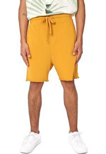 Bermuda Osklen Reta Color Amarela