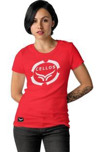 Camiseta Cellos Corp Premium Vermelho