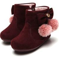64b48286b3f329 Bota Para Menina Klin Ziper infantil   Shoes4you