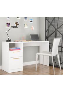 Escrivaninha Office Bc 64 Branca - Brv Móveis