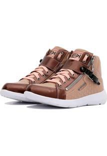 Sneaker K3 Fitness Up Rosa