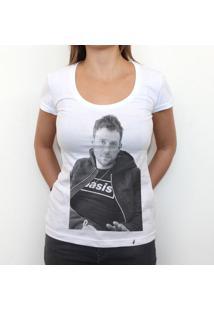 Oasis - Camiseta Clássica Feminina