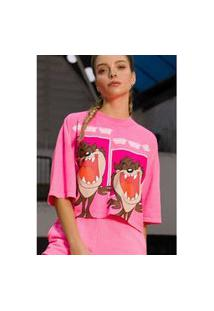 T-Shirt Curta Rosa Ref: 502Ts002385 08577 T-Shirt Curta Rosa Ref: 502Ts002385 08577 - G - Rosa My Favorite