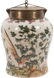 Vaso Decorativo De Porcelana Saint G