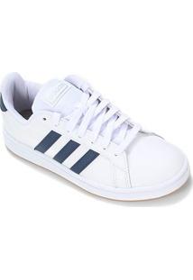 Tênis Adidas Grand Court Masculino - Masculino-Off White+Azul