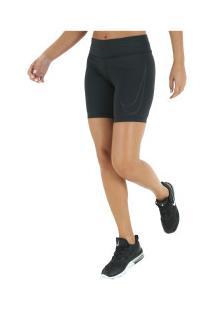 Bermuda Nike Fast 7In Gx - Feminina - Preto