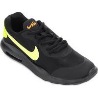 611822186e Tênis Infantil Nike Air Max Oketo Masculino - Masculino-Preto+Verde Limão