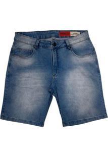 Bermuda Mcd Jeans Masculina Light Blue 12123409 - Masculino