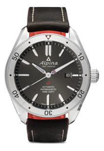 Alpina Relógio Alpiner 4 Automatic 44Mm - Black