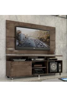 """Rack Com Painel Home Leblon 1,6 M Para Tv 55"""""""" Marrom"""