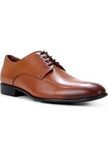 Sapato Social Couro Shoestock Bico Redondo Masculino - Masculino