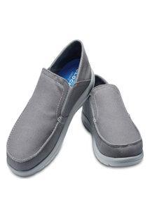 Sapato Crocs Santa Cruz Mens Cinza