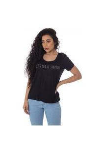 T-Shirts Daniela Cristina U 03 Viscose 10274 3 Preto