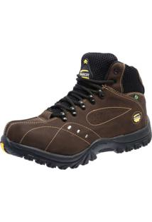 Bota Adventure Couro Nobuck Tchwm Shoes - 11000 - Café