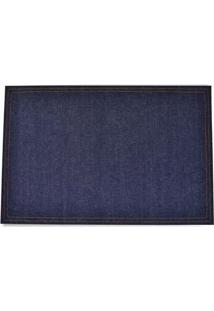 Jogo Americano Jeans Indigo Azul 47X30Cm - 27509