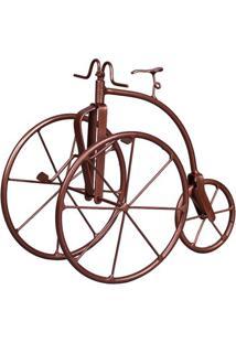 Triciclo Decorativo Bijou Bronze