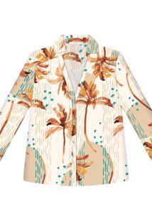 Camisa Manga Longa Estampa Long Beach - Lez A Lez