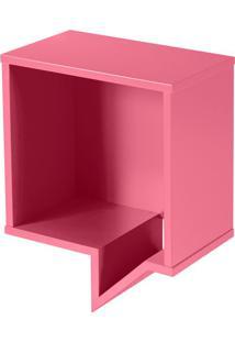 Prateleira Cartoon Quadrada Pink