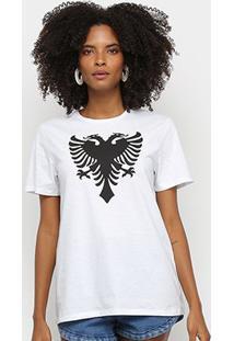 Camiseta Cavalera Tee Classic Cavalera Feminina - Feminino