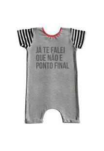 Pijama Curto Comfy Ponto Final