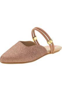 Sapato Infantil Feminino Mule Molekinha - 2534207 Bronze 28