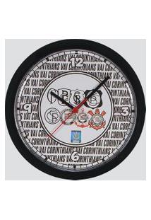 Relógio De Parede Corinthians Minha História