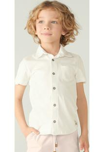 Camisa Básica Infantil Menino Manga Curta