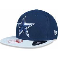 6670983fa Boné Dallas Cowboys Classic 950 Snapback Vicotry Side - New Era - Unissex