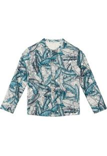 Camisa Bebê Tigor T. Tigre Masculina - Masculino-Azul