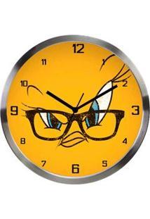 Relógio De Parede Piu Piu Looney Tunes