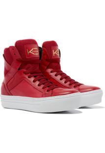 Sneaker K3 Fitness Easy Vermelho - Kanui