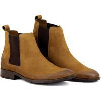 Bota Chelsea Masculina Linha Urban Boots Em Couro Camurça - Masculino -Caramelo 9318c7ab522de