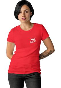 Camiseta Ezok King Vermelho
