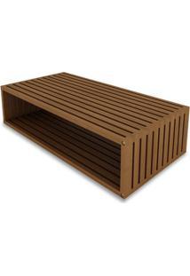 Modulo Dominoes 90X22 Cor Stain Jatoba - 23227 - Sun House