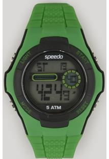 Relógio Digital Speedo Feminino - 81121G0Evnp5 Verde - Único