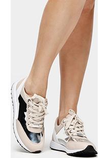 Tênis Bebecê Jogging Bicolor - Feminino