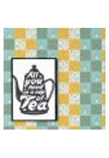 Papel De Parede Autocolante Rolo 0,58 X 5M - Azulejo Xicara Bule Café 286448789