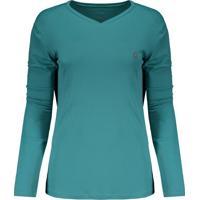 58735d870 Camisetas Esportivas Poliester Turquesa