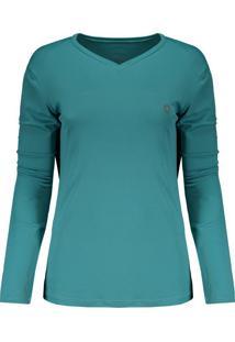 Camisetas Esportivas Gola V Manga Longa  2fe8859715db5