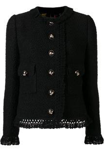 Dolce & Gabbana Jaqueta Com Abotoamento - Preto