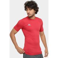 514b8efe92cbb Netshoes. Camiseta Kappa Térmica ...