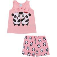 4e7fe423bcf96d Pijama Para Menina Amor Curto infantil   Shoes4you