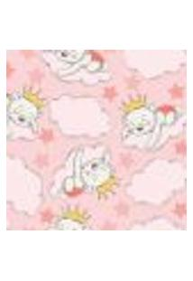 Papel De Parede Infantil Ursinha Princesa 2,70X0,57M