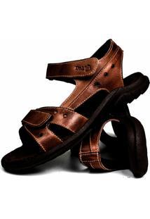 Sandália Casual Dia Dia Confortável Way Boots Café Aberta