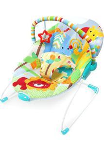 Cadeira De Descanso Animais- Azul Claro & Vermelha-Bright Starts