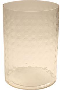 Porta-Velas De Vidro Decorativo Billow